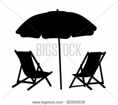 Two Lounge Chairs Vector Photo Free