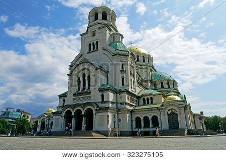 St. Alexander Nevsky Cathedral in Sofia, Bulgaria.
