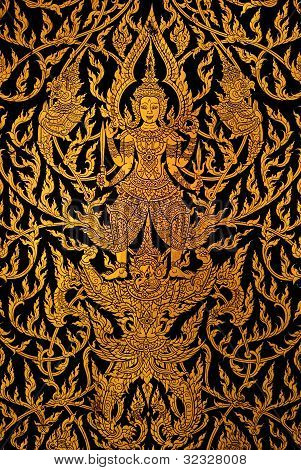 background of the Thai art