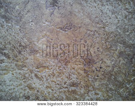 Soft, Beige Stains And Blotches Resembling A Heterogeneous Liquid Or Stone Color