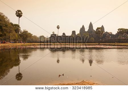 Morning At Ankor Wat, Siem Reap, Cambodia