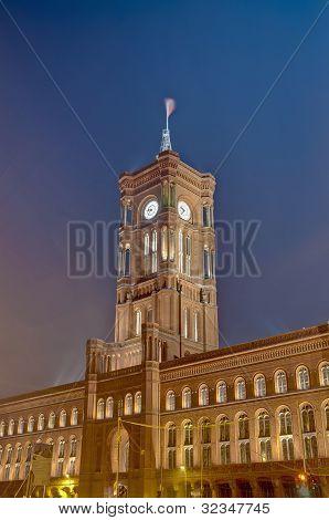 The Rotes Rathaus At Berlin, Germany