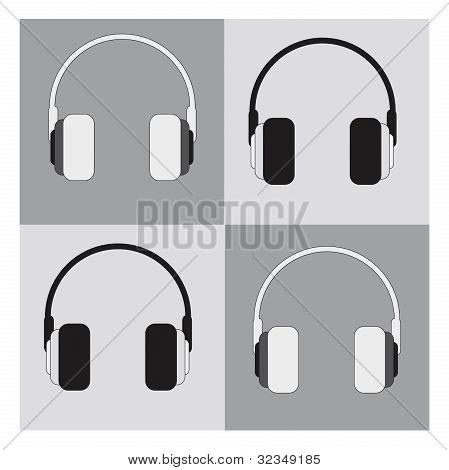 Vector Earphones Icon
