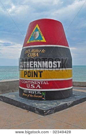 Southernmost Tip of the US, Key West Florida