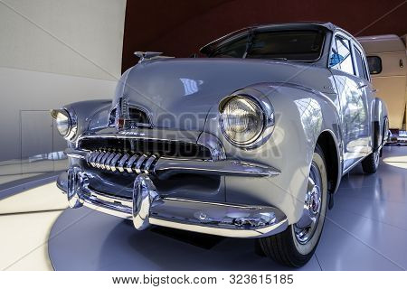 Canberra, Australia - Apr 23, 2018: A Fj Holden Special In Excellent Condition On Display At The Nat