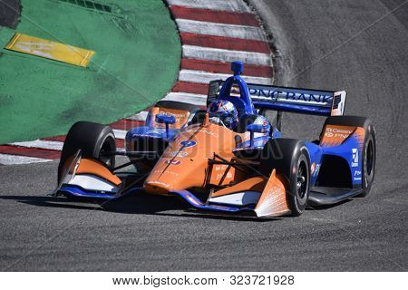 September 19, 2019 - Salinas, California, USA: SCOTT DIXON (9) of Auckland, New Zealand  practices for the Firestone Grand Prix of Monterey at Weathertech Raceway Laguna Seca in Salinas, California.