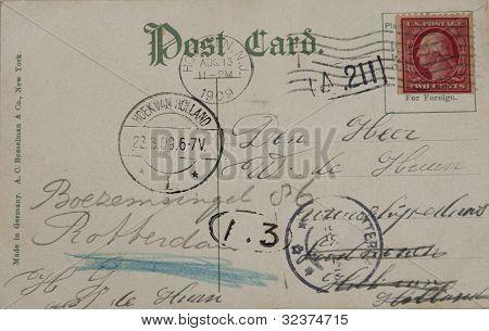 Postkarte von 1909