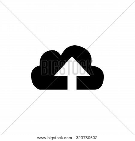 Cloud. Arrow. Upload. Upload Icon. Cloud Upload. Upload Logo. Cloud Upload Vector Icon Modern And Tr
