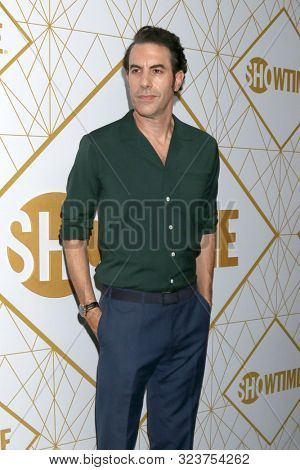 LOS ANGELES - SEP 21:  Sacha Baron Cohen at the Showtime Emmy Eve Party at the San Vicente Bungalows on September 21, 2019 in West Hollywood, CA