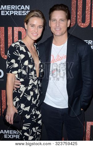LOS ANGELES - SEP 19:  Lily Anne Harrison, Peter Facinelli at the
