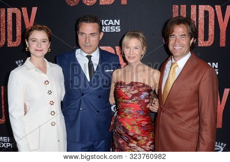 LOS ANGELES - SEP 19:  Jessie Buckley, Rufus Sewell, Renee Zellweger, Rupert Goold at the
