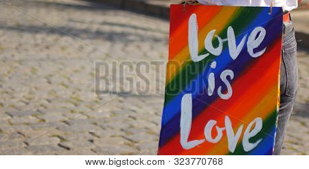 LGBT Community Rights Posters. Posters for equality and freedom of people.