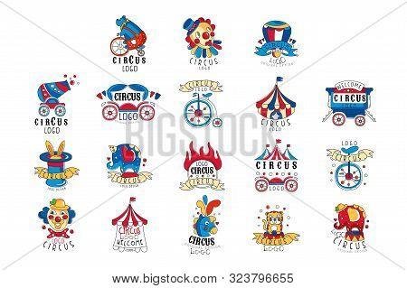 Circus Logo Design Vector Photo Free Trial Bigstock