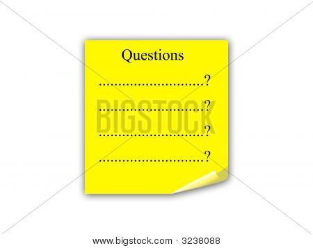 Questions Note