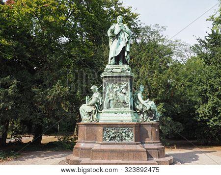 Peter Von Cornelius Monument In Duesseldorf