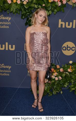 LOS ANGELES - SEP 22:  AnnaSophia Robb at the Walt Disney Television Emmy Party at the Otium on September 22, 2019 in Los Angeles, CA
