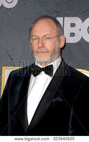 Liam Cunningham at the HBO's Official 2019 Emmy After Party held at the Pacific Design Center in West Hollywood, USA on September 22, 2019.