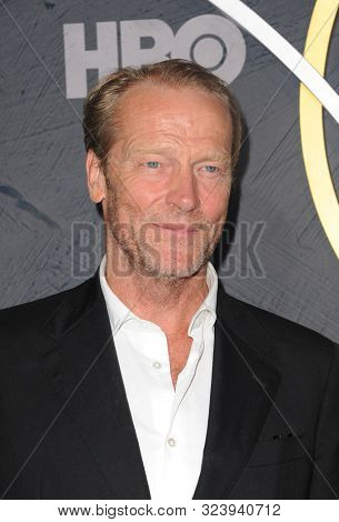 Iain Glen at the HBO's Official 2019 Emmy After Party held at the Pacific Design Center in West Hollywood, USA on September 22, 2019.
