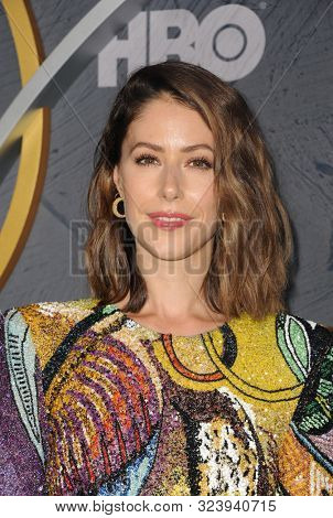 Amanda Crew at the HBO's Official 2019 Emmy After Party held at the Pacific Design Center in West Hollywood, USA on September 22, 2019.