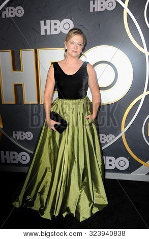 Melissa Joan Hart at the HBO's Official 2019 Emmy After Party held at the Pacific Design Center in West Hollywood, USA on September 22, 2019.