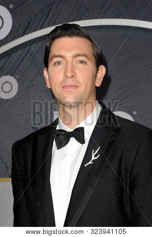 Nicholas Braun at the HBO's Official 2019 Emmy After Party held at the Pacific Design Center in West Hollywood, USA on September 22, 2019.