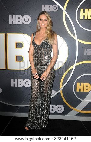 Heidi Klum at the HBO's Official 2019 Emmy After Party held at the Pacific Design Center in West Hollywood, USA on September 22, 2019.