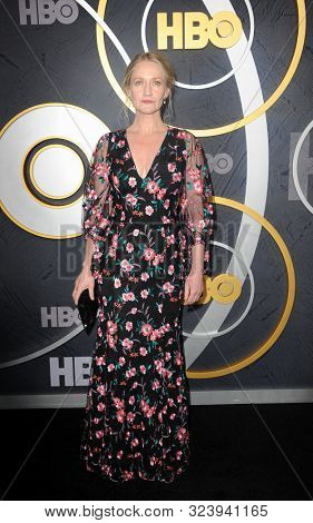 Paula Malcomson at the HBO's Official 2019 Emmy After Party held at the Pacific Design Center in West Hollywood, USA on September 22, 2019.