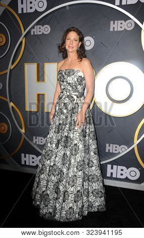 Robin Weigert at the HBO's Official 2019 Emmy After Party held at the Pacific Design Center in West Hollywood, USA on September 22, 2019.