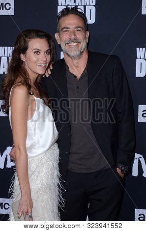 LOS ANGELES - SEP 23:  Hilarie Burton, Jeffrey Dean Morgan at the