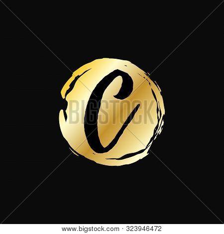 Letter C Logo Design Vector Illustration Template. Letter C Logo Vector. Creative Letter C Letter Lo