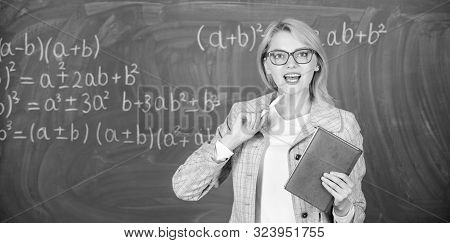 School Teacher Explain Things Well And Make Subject Interesting. Teaching Complex Multifaceted Activ