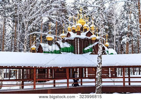 Monastery Complex At The Location Where Bodies Of The Executed Romanov Royal Family Were Discovered.