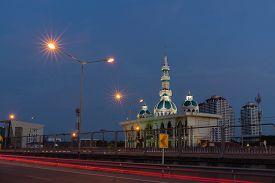 Yamiun Ithat (hua Mak Yai) Mosque In Bangkok , Thailand
