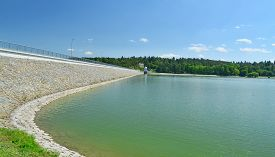 Plumlov Reservoir One Of The Oldest Reservoirs In The Morava River Basin Was Put Into Operation As E