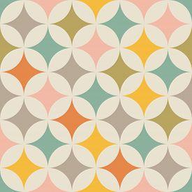 Geometric Seamless Pattern. Abstract Background. Vintage Pattern. Retro Pattern