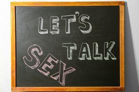 Small Blackboard With Written Phrase
