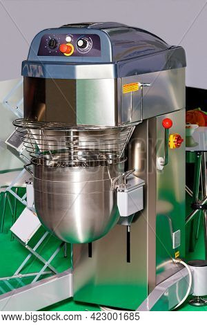 Made Of Stainless Steel, Food Contact Planetary Mixer Combine A Robust Concept With A Modern Design