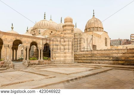 Tombs Of Mamelukes, City Of Dead, Historic Cairo Unesco World Heritage List, Egypt Domes Of The Tomb