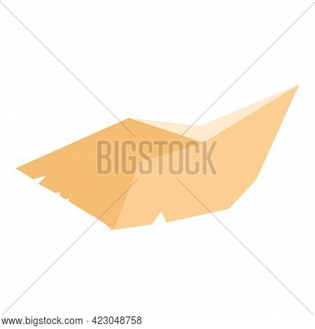 Garbage Soft Paper Icon. Cartoon Of Garbage Soft Paper Vector Icon For Web Design Isolated On White