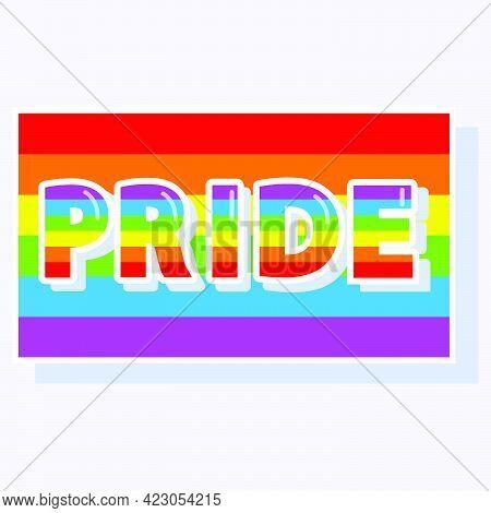 Rainbow Flag Of Pride