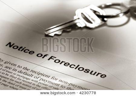 Real Estate Foreclosure Notice