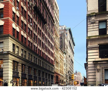New York Street Scenery