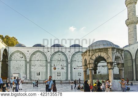 The Blue Mosque In City Of Istanbul, Turkey