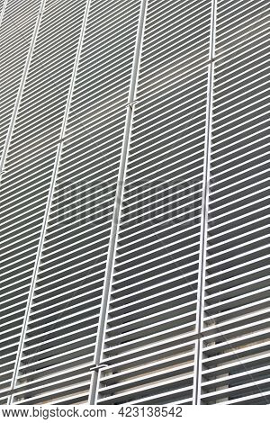 Modern Structure. Abstract Structure Grate Background. Structural Detail Lattice Texture.