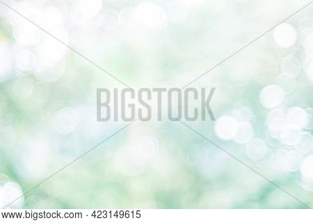 Green Bokeh Background,green Bokeh,green Bokeh Abstract.background With Green Blurred Bokeh Lights.