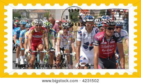 Tour De France Stamp