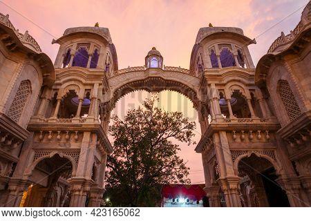 Sri Krishna Balaram Mandir Is A Gaudiya Vaishnava Temple In The Holy City Of Vrindavan In Uttar Prad
