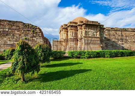 Shani Deity Temple In Chittor Fort In Chittorgarh City, Rajasthan State Of India