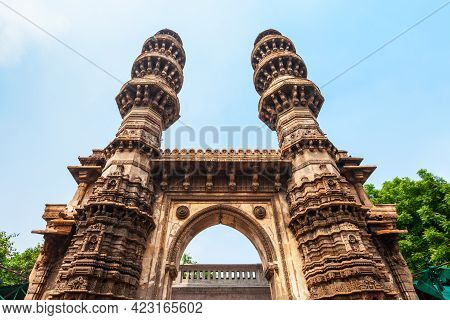 Sidi Bashir Mosque Is A Former Mosque In The City Of Ahmedabad, Gujarat State Of India