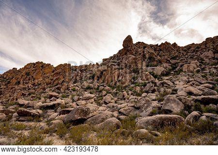 The Boulder Filled Grapevine Hills In Big Bend National Park